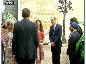 Prince William and Kate Middleton's visit to India