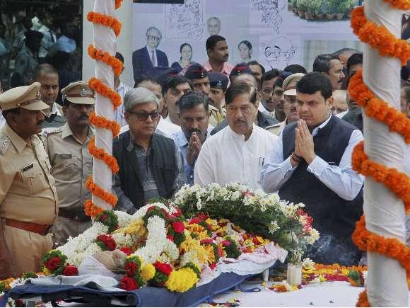 R.K. Laxman, Devendra Fadnavis, Barack Obama, ISRO