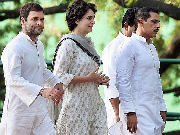 Sonia Gandhi, Rahul Gandhi, Priyanka Gandhi, Vir Bhumi