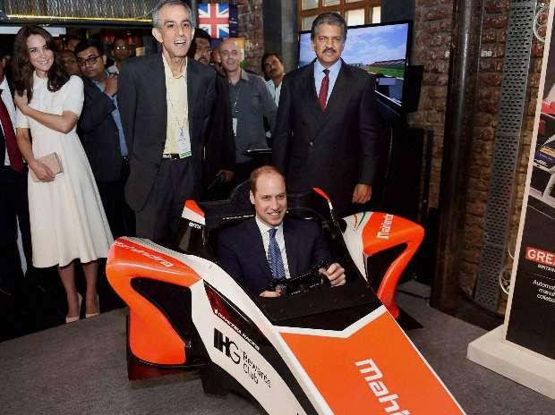 Prince William, Kate Middleton, India, Startups