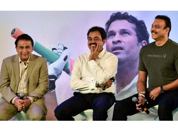Sachin Tendulkar, Sunil Gavaskar, Autobiography, Playing It My Way