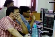 Sensex slumps 855 points