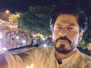 Shah Rukh Khan celebrates 50th birthday