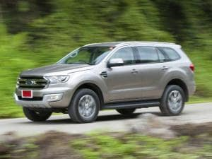 The third generation Ford Endeavour