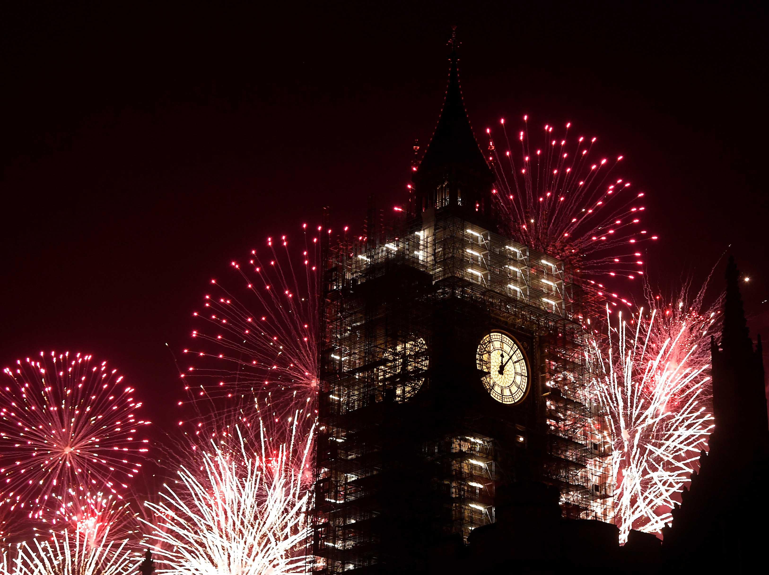 Big Ben, New Year