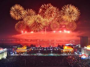 Celebrations in North Korea
