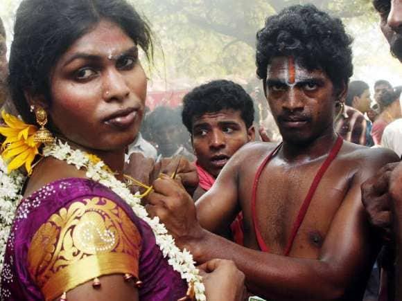 Transgenders, Koothandavar, DMK, Tiruchi Siva
