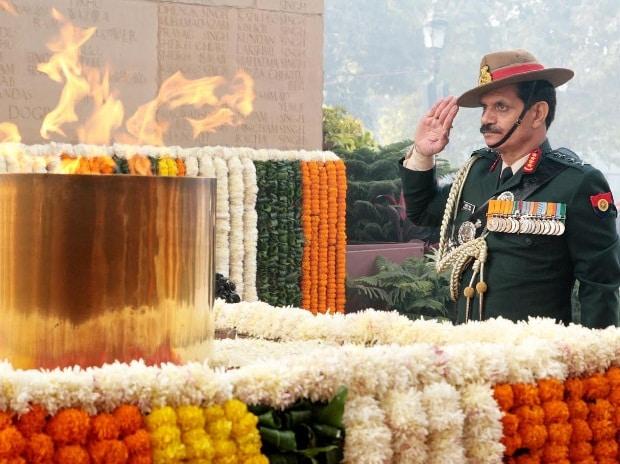 General Dalbir Singh, Amar Jawan Jyoti, COAS, Indian Army, General Bipin Rawat