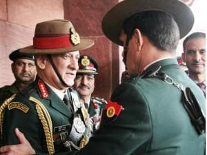 Gen Bipin Rawat takes charge as new Army chief