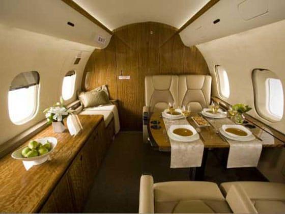 Global 5000, Large cabin jets