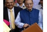 Arun Jaitley presents Budget 2015