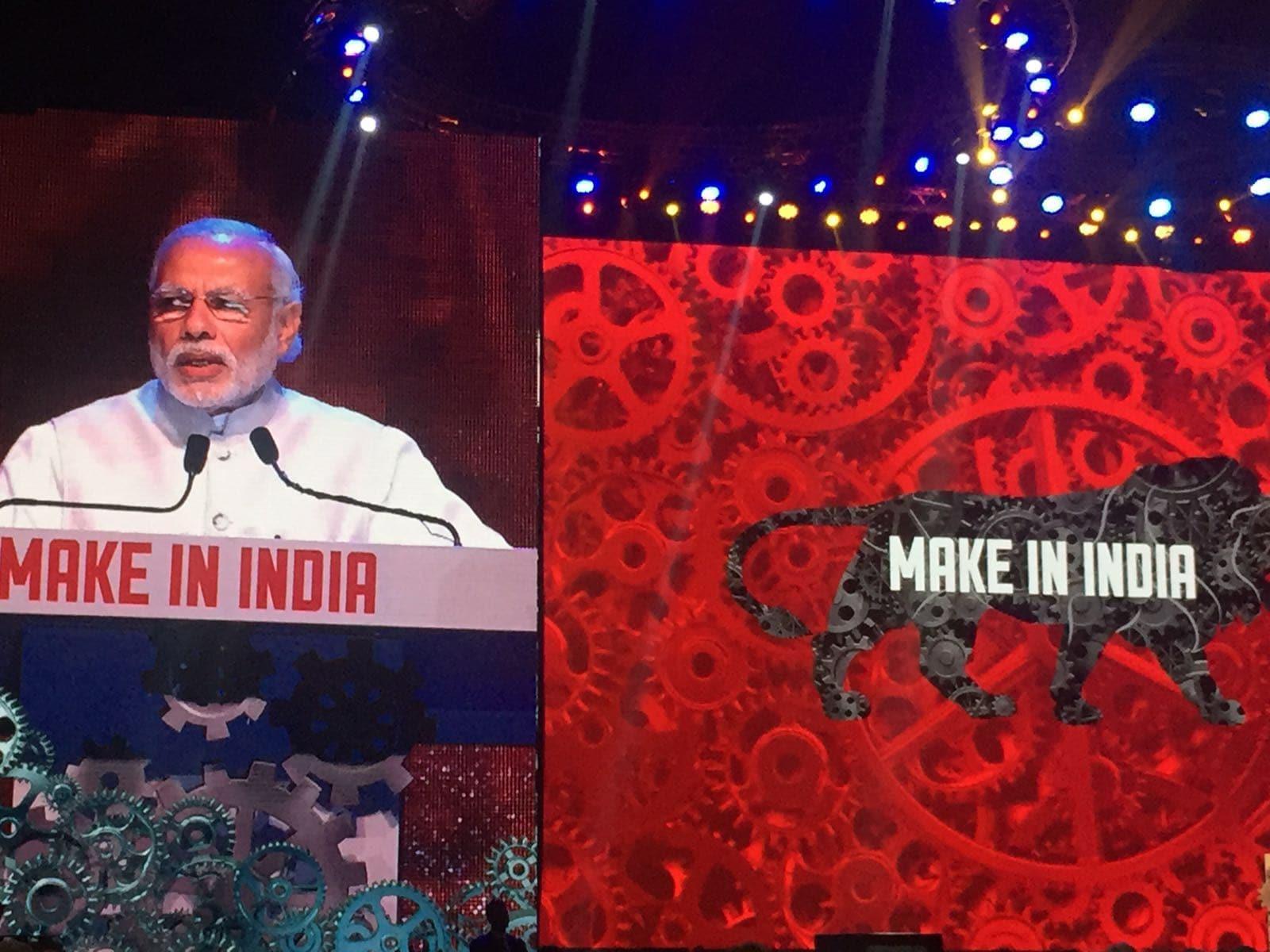 Make in India, inauguration, Mumbai, Narendra Modi, Cyrus Mistry, Stefan Lofven, Juha Sipila, Sweden, Finland, Poland, Mukesh Ambani