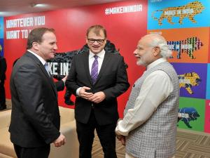 Inauguration of 'Make in India' week
