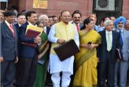 Arun Jaitley presents his maiden Budget