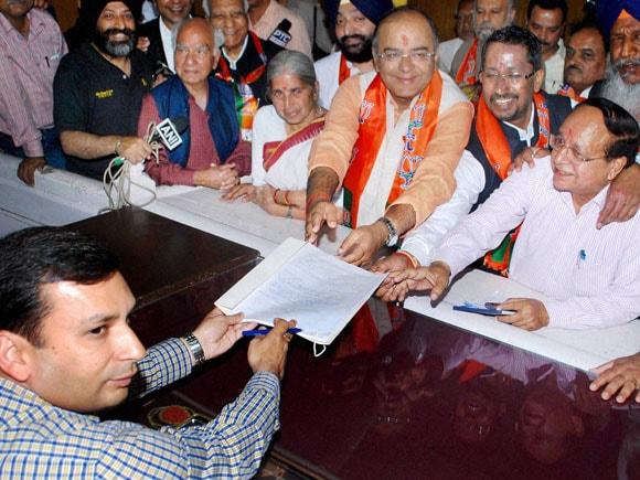 #BJP, #ArunJaitley, #Amritsar
