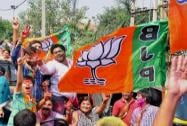 BJP celebrates maiden win in Haryana