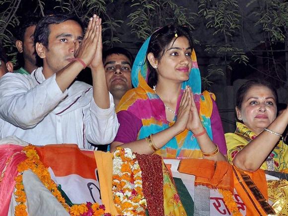 #JayaPrada #JayantChaudhary #RLD #Mathura