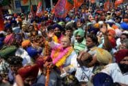 Arun Jaitley campaigns at Majitha near Amritsar