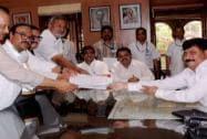 Chhagan Bhujbal files his nomination papers