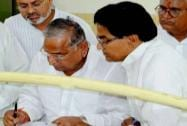 Mulayam Singh files his nomination papers