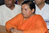 Uma Bharti files her nomination papers