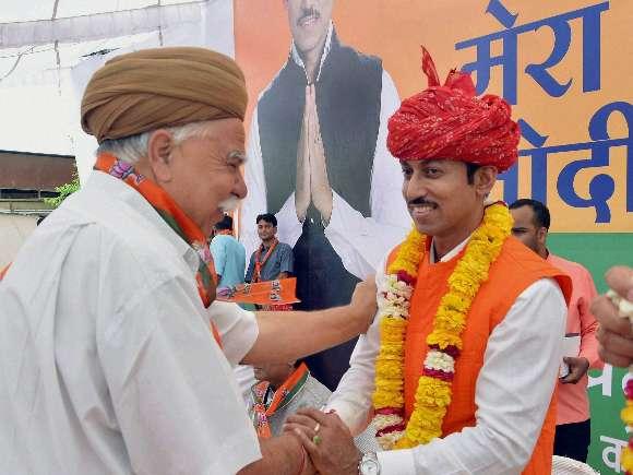 BJP, Rajyavardhan Rathore