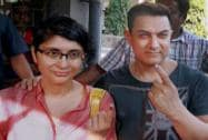 Famous faces in India cast their vote