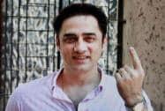Faizal Khan casts his vote