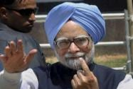 PM shows his inked finger