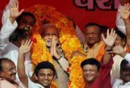 Narendra Modi campaigns in Allahabad