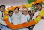 Nitish Kumar campaigns in Chiraiya