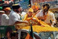 Arun Jaitley campigns in Amritsar