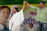 Mamata campaigns at Berhampore in Murshidabad