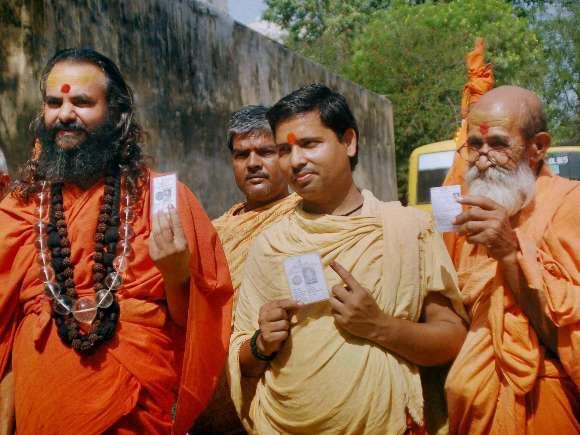 Sadhus, Lok Sabha, Varanasi