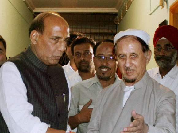BJP, Rajnath Singh, Maulana  Kalbe Sadiq