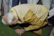 Modi's day in Parliament