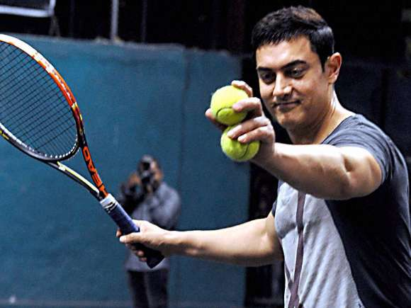 Aamir Khan, All India Women's Open Tennis Tournament