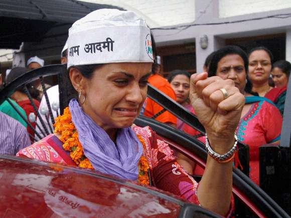 Aam Aadmi Party, Gul Panag