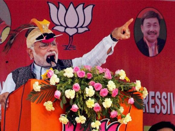 #NarendraModi #BJP #Assam #NorthEast #Arunachal