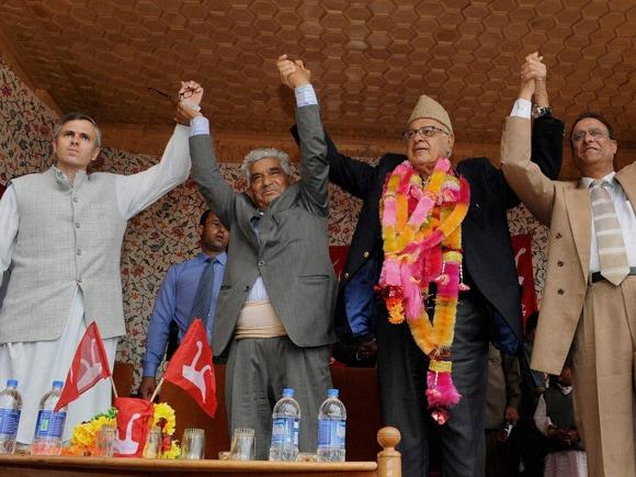 #OmarAbdullah, #NationalConference, #Farooq Abdullah