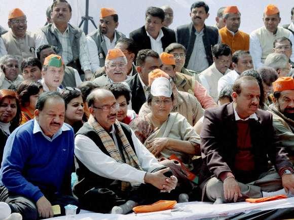 BJP, AAP, Vijay Goel, Jantar Mantar