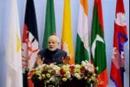 Prime Minister Narendra Modi addresses the inaugural session of 18th SAARC Summit