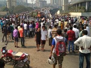 200-year-old caste war brings Mumbai to its knees