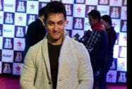 Bollywood Aamir Khan at the the Red Carpet