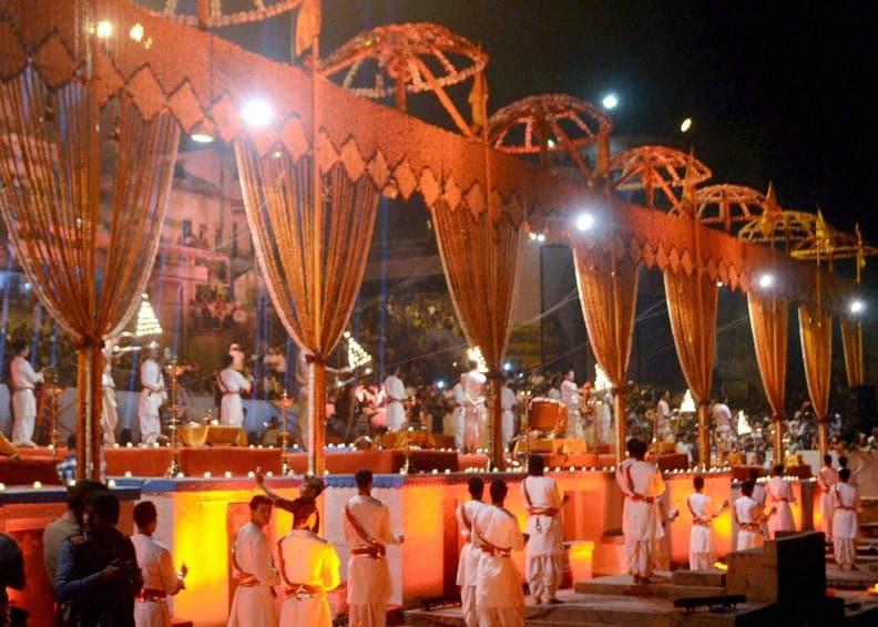 view, Ganga arti, occassion, 51st birthday, Nita Ambani, wife, business, tycoon, Mukesh Ambani