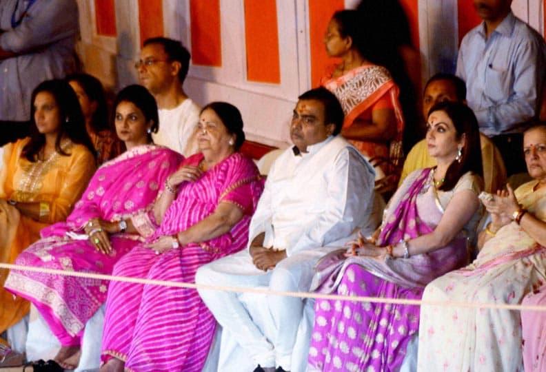 Industrialist, Mukesh Ambani, mother, Kokilaben, wife, Nita Ambani, others, family members, Varanasi, celebrate, Nita Ambani, birthday, Varanasi