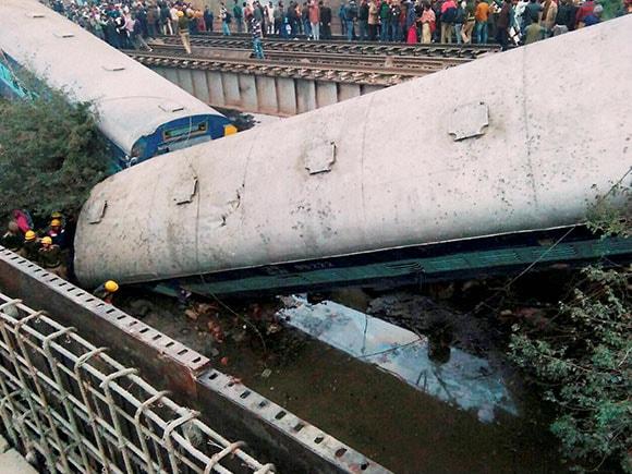 Kanpur Train Accident, Ajmer-Sealdah, Indian Rail, Ajmer-Sealdah express train, derailed