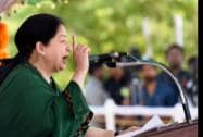Tamil Nadu Chief Minister J Jayalalithaa addresses during the 68th Independence Day function in Chennai