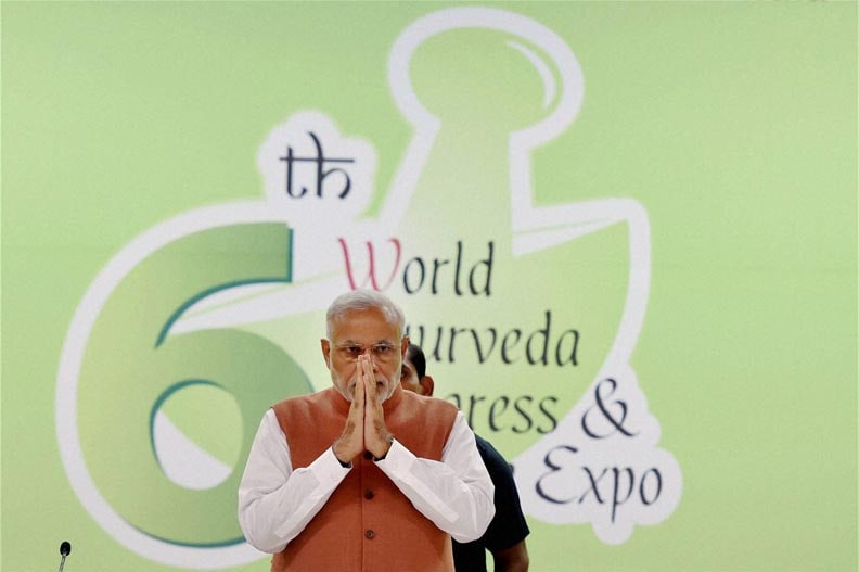 Prime Minister, Narendra Modi, addresses, valedictory function, 6th World Ayurveda Congress, New Delhi