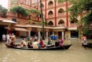 Floods In ISKCON Temple